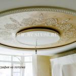 3D рисунок на потолке